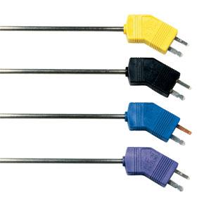 Sondas termopares de baixo ruídocom conectores tamanho miniatura | GTMQSS