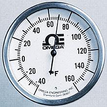 All Stainless Steel Bi-Metal Stem Thermometers   GL  Series
