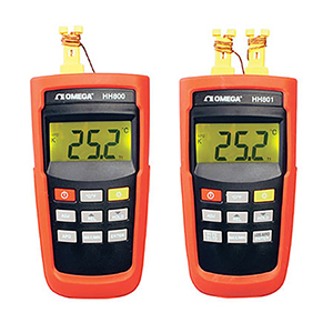 Termômetros para termopares portáteis | Série HH800