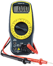 Digital Multimeters, Digital Voltmeter, Digital Ampeter | HHM33, HHM34, HHM35