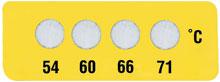 Non-Reversible OMEGALABEL™ Temperature Monitors, Mini Labels, Models ML4C-(*) | ML4C Series