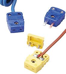 Conectores em Miniatura para Termopar Temperatura de Operação de -29 a 180°C (-20 a 356°F) e Nylon Revestido com Vidro | Série NMP