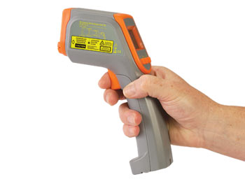 Infrared Thermometer with Relative Humidity Measurement | OS418L