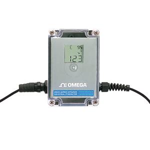 Termômetro Infravermelho Industrial, Display Integral Saída Analógica | Série OS550A