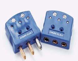 Conectores Duráveis de 3 Pinos Tamanho Padrão Nylon com Fibra de Vidro Codificado por Cor com Pino de Conexão de Blindagem, na Taxa de -29 a 180°C (-20 a 356°F) | Série OTP