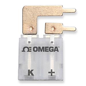 Conectores de Termopar para Placa de Circuito Tamanhos Padrão e Miniatura Tipo PCC Nylon com Fibra de Vidro a -29 a 180°C (-20 a 356°F) |