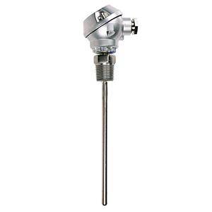 Sonda RTD com cabeçote de proteção subminiatura em alumínio   PR-19