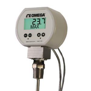Indicadores Digitais de TemperaturaDe Pt-100, a Bateria e com Alarmes de Temperatura | Séries PRTXB e PRTXAL