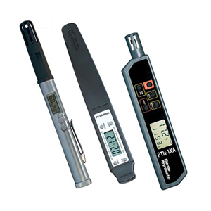 Pocket Testers for Temperature and Relative Humidity, PTH-1XA, RH-122 and RH-1X | PTH-1XA, RH-122 and RH-1X
