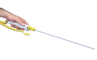 Special Tip Thermocouple Probes with  Quick Disconnect or Integral Handles | QD & HPS Series