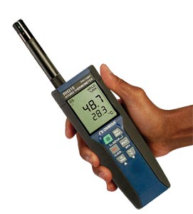 Registrador de Dados Termo-Higrômetro Portátil | RH318