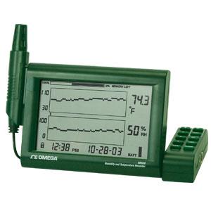 Registrador Gráfico para medição de  Umidade/Temperatura | RH520 Series