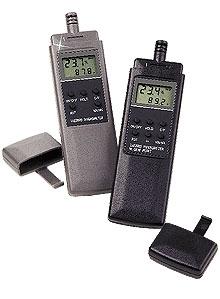 Termo-Higrômetros de Precisão e Resposta Rápida Para Medições de Temperatura, Umidade e Ponto de Orvalho | Série RH80/90