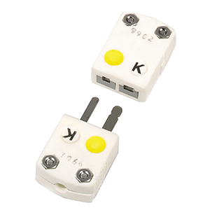 Conectores Cerâmicos em Miniatura para Temperatura Ultra Elevada | Série SHX, Conector Macho Básico