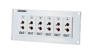 Painéis de Conectores com Conectores em Tamanho Padrão | Série SJP