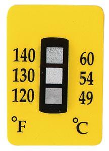 Non-Reversible Temperature Labels, 3 Temperature Ranges | TL-3