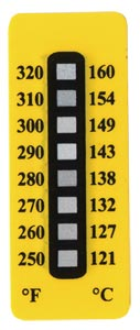 Non-Reversible Temperature Labels, 8 Temperature Ranges | TL-8