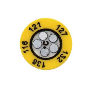 Five Dot Temperature Labels | TL-C5 Series