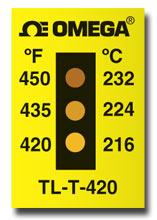 NonReversible Temperature Strips | TL-T Series