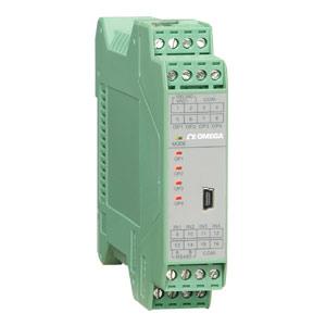 Transmissor de Temperatura Duplo para Trilho DIN - Omega Engineering | TXDIN70